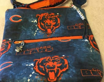 Chicago Bears Purse, Sports Themed Purse