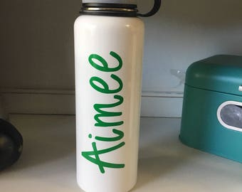 40oz Double Insulated Thermal Bottle with Personalization