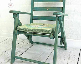 Child's chair, Child's fold up chair, Vintage Chair