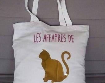 Tote bag, cat shopping bag