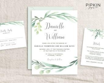 invitation wedding templates