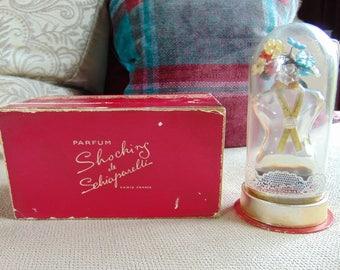 "VINTAGE c1930s (1936?) Schiaparelli ""Shocking"" Perfume Bottle Presentation"