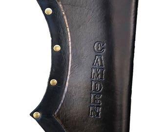 Leather Back Quiver, Leather Quiver, Quiver Bag, Quiver Archery, Quiver Bow Arrow