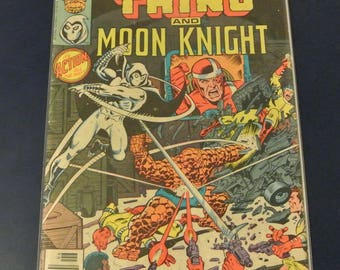 Marvel Two In One #52 The THING And Moon Knight Bronze Age 1979 Marvel Comics