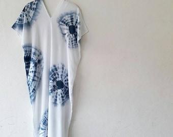 Shibori Karen Maxi Dress.