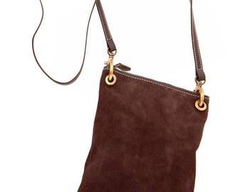 Zeta Bag Chocolate Brown small