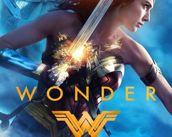 FREE SHIPPING Wonder Woman Movie 2017 movie poster 11x17