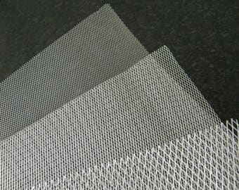 Aluminium Modelling Mesh Fine Medium And Coarse Appox 25cm By 20cm Sheets Model Making Arts And Crafts Supplies