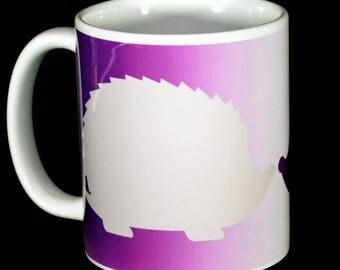 Mug - Hedgehog / Hedgehogs 11 oz ceramic mug