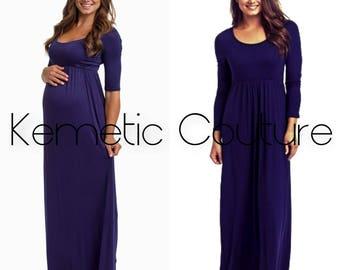 Lisa Scoop Neckline Jersey Maxi Dress