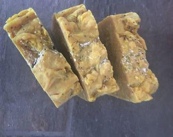 Tumeric ginger soap