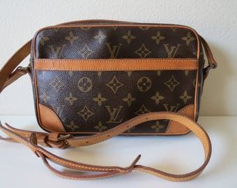 Louis Vuitton Monogram Trocadero 24 Shoulder Crossbody Bag Vintage from 1983
