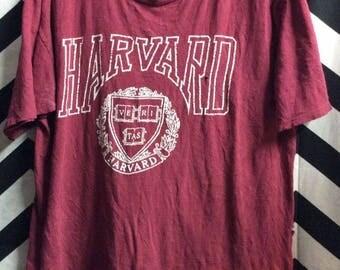 Perfectly Worn And Thin Harvard Tshirt