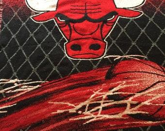 1990s Chicago Bulls Blanket
