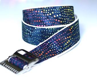 "High Quality Custom Gait Belt and Badge Reel ""The Dottie"""