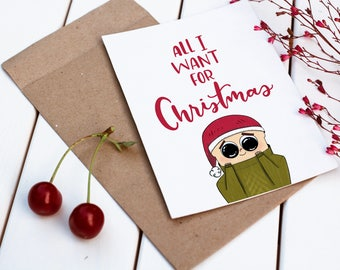 All I Want for Christmas is YOUR DOG // Christmas Card