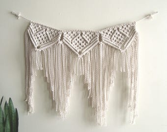 Medium-Sized Macrame Wall Hanging
