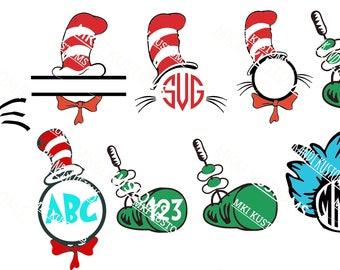 dr. seuss svg/ monogram svg/ teacher svg/ dr. seuss monogram svg/ dr. seuss teacher svg/ disney teacher svg/ cricut files svg/ cut files svg
