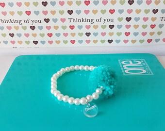 Pearl bracelet for Girls