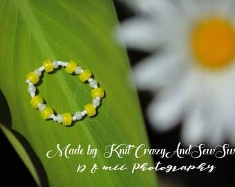 Newborn Bracelet - Beaded Photo Prop