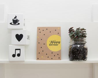 Kraft greeting cards collection