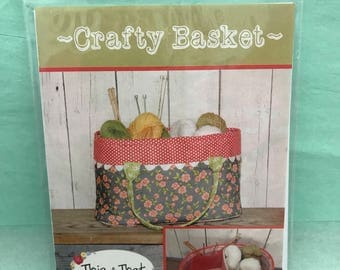 Crafty Basket Sewing Pattern
