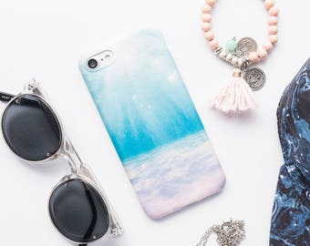 Beach iPhone Case iPhone 8 Case iPhone 8 Plus Case iPhone 7 Case iPhone 7 Plus Case iPhone 6s Case iPhone 6s Plus Case Ocean iPhone Case Art
