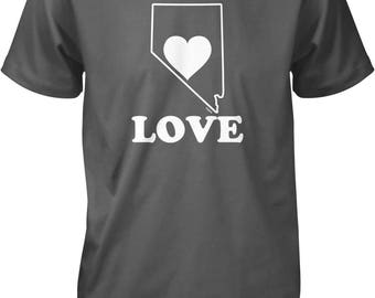 Nevada Love Men's T-shirt, NOFO_01119