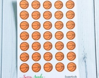 Basketball Stickers - Sports Stickers