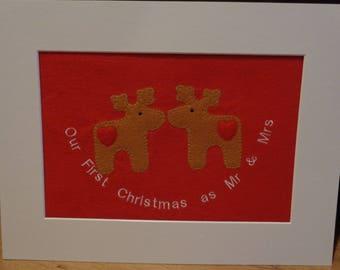 Novelty Happy Couple Christmas gift
