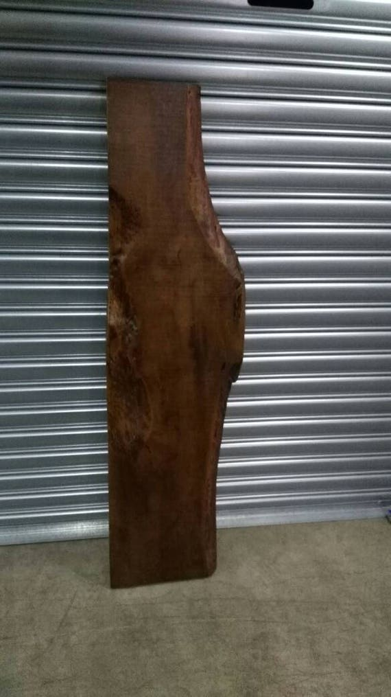 Oak wood slab 1 1 2 x 9 12 x 52 lacquer finish for How to finish a wood slab