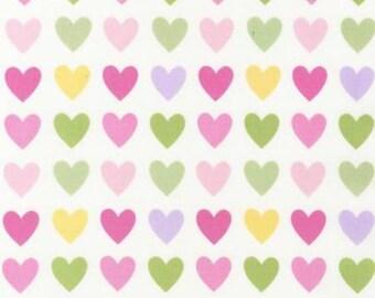 Robert Kauffman Remix, Ann Kelle Designs, Spring Hearts, fabric by the yard