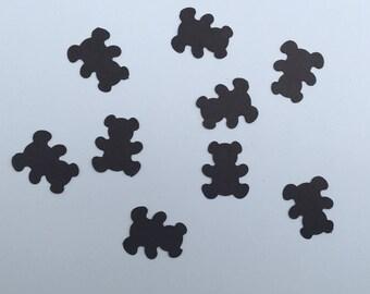200 Brown Teddy Bear Confetti Bear Confetti Baby Shower Confetti Birthday Confetti Shower Confetti Teddy Bear Birthday