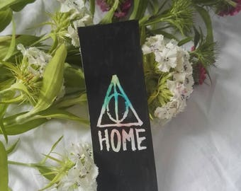 Deathly Hallows/home bookmark