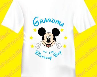 Grandma Mickey Mouse Etsy