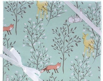 60% OFF Springtime Animals Gift Wrap by Smudge Ink