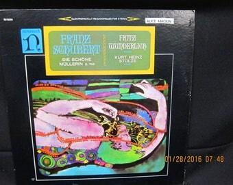 """Franz Schubert """"Die Schone Mullerin D 795"""" - Nonesuch Records"""