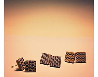 Wooden studs square