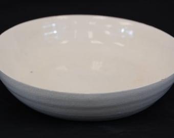 Glazed Porcelain Bowl