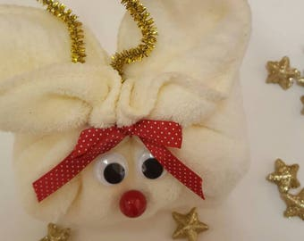 Reindeer Flannel and Soap gift