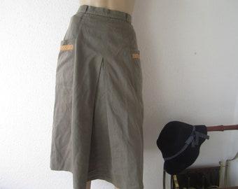 Vintage 60s high waist skirt skirt Heinzelmann XS/s