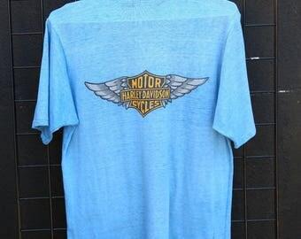 0184 Vintage Harley Davidson tee