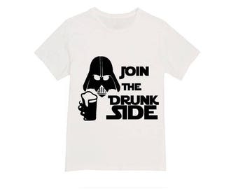 Epcot Food and Wine Festival Shirt / Join The Drunk Side