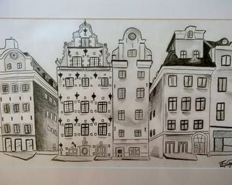 Hand Made Photo - Stockholm, Sweden