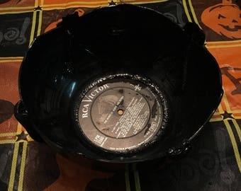 Hand-Crafted Record Bowls