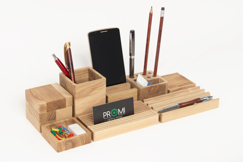 Oak Desk Organizer ~ Complete desk organizer yourself oak wooden