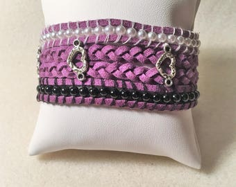 """Purple Heart"" bracelet"