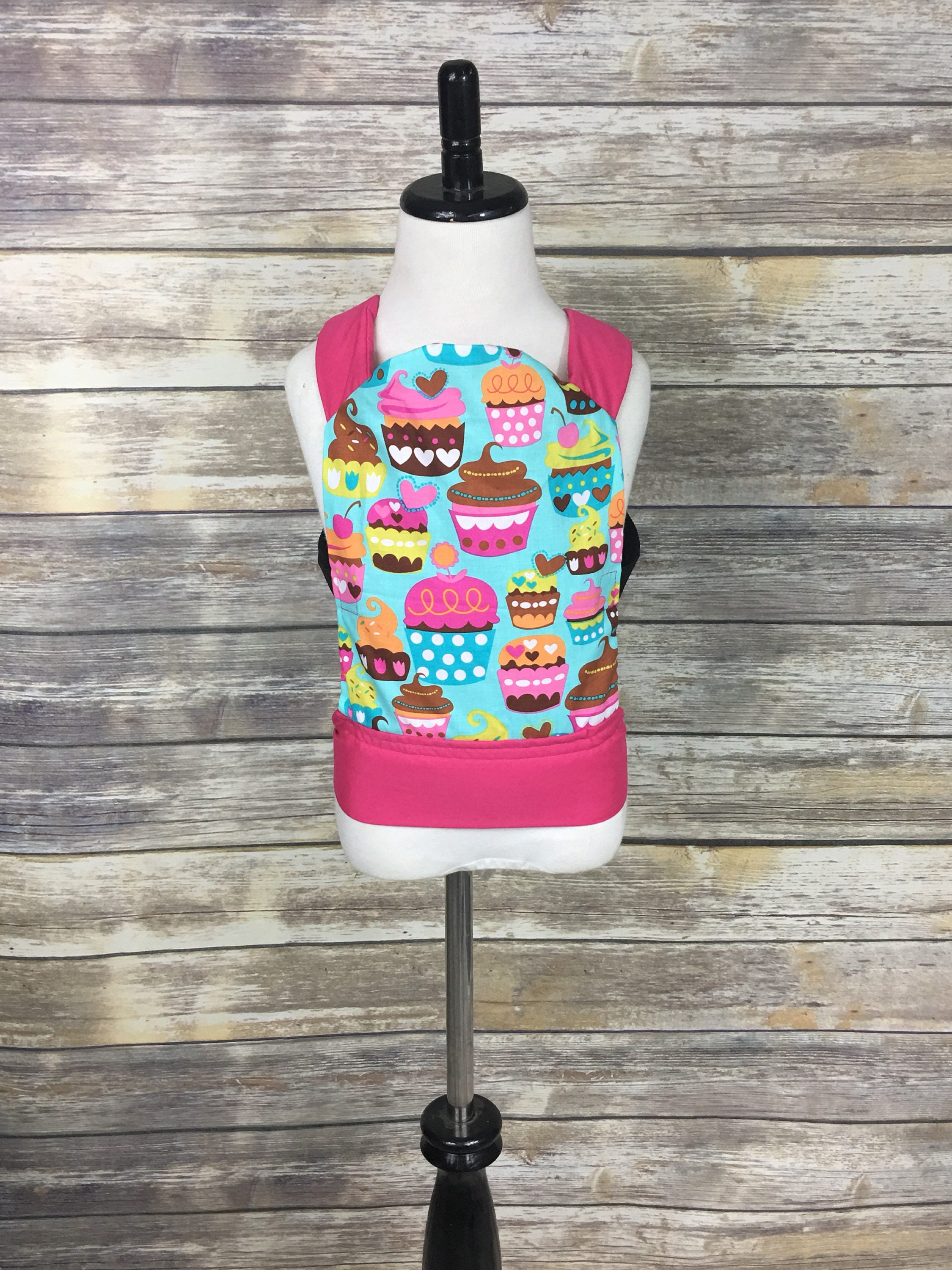 Mini Me Carrier Cupcake Tula Inspired Baby Doll Carrier
