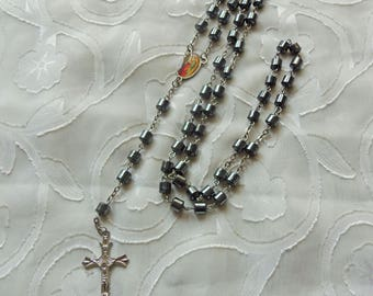 Vintage Rosary Beads/Crucifix (2893D)