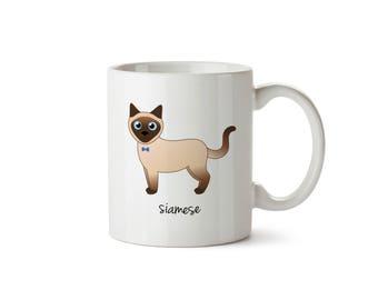 Siamese Cat Mug (boy)